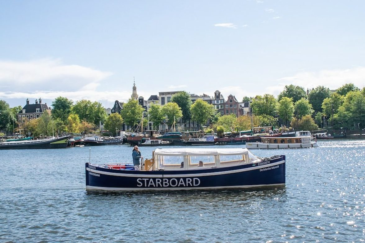 Private Amsterdam sailing starboard