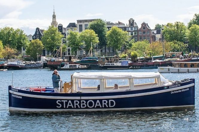 A Private Amsterdam sailing starboard