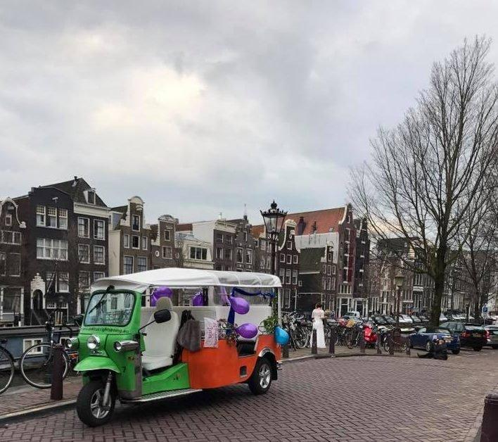 Amsterdam tuktuk