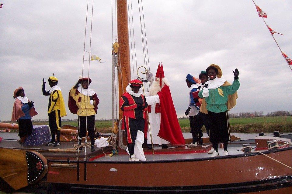 Sinterklaas boat Amsterdam