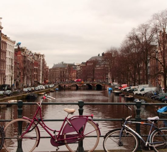 What's the weather like in Amsterdam in winter?