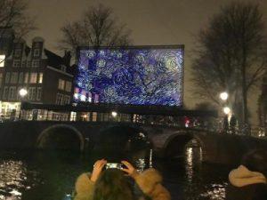 Amsterdam light festival van gogh