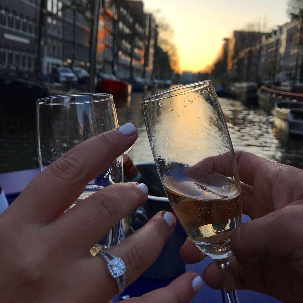 Wedding proposal amsterdam